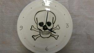 Horloge personnalisée décors pirate
