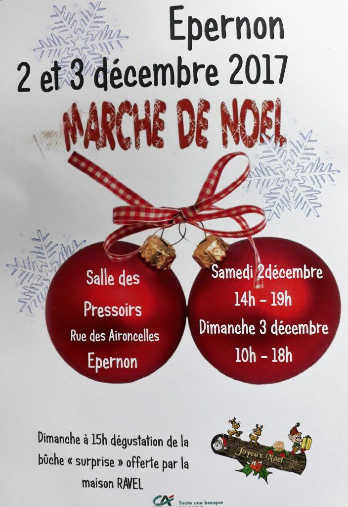 Marché de Noel 2 et 3 décembre 2017