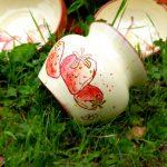Vase fraise