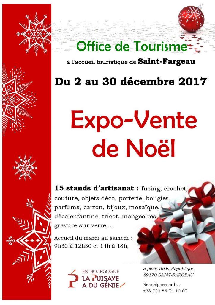 Expo-Vente de Noël décembre 2017 à Saint-Fargeau