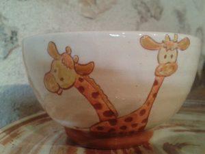 Bol girafes
