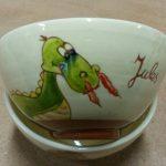 Bol personnalisé avec dragon et prénom Jules