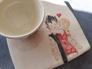 service bol et sous-bol manga amoureux