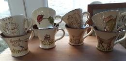 commande de 8 mugs personnalisés animaux