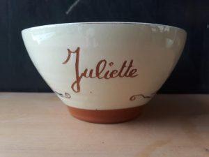 bol personnalisé avec prénom Juliette