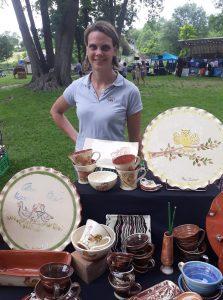 exposition poterie fete de l ane chateau landon 23 juin 2019 5