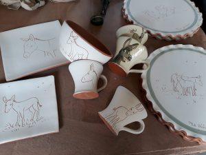 poterie pour la fete de l ane de chateau landon