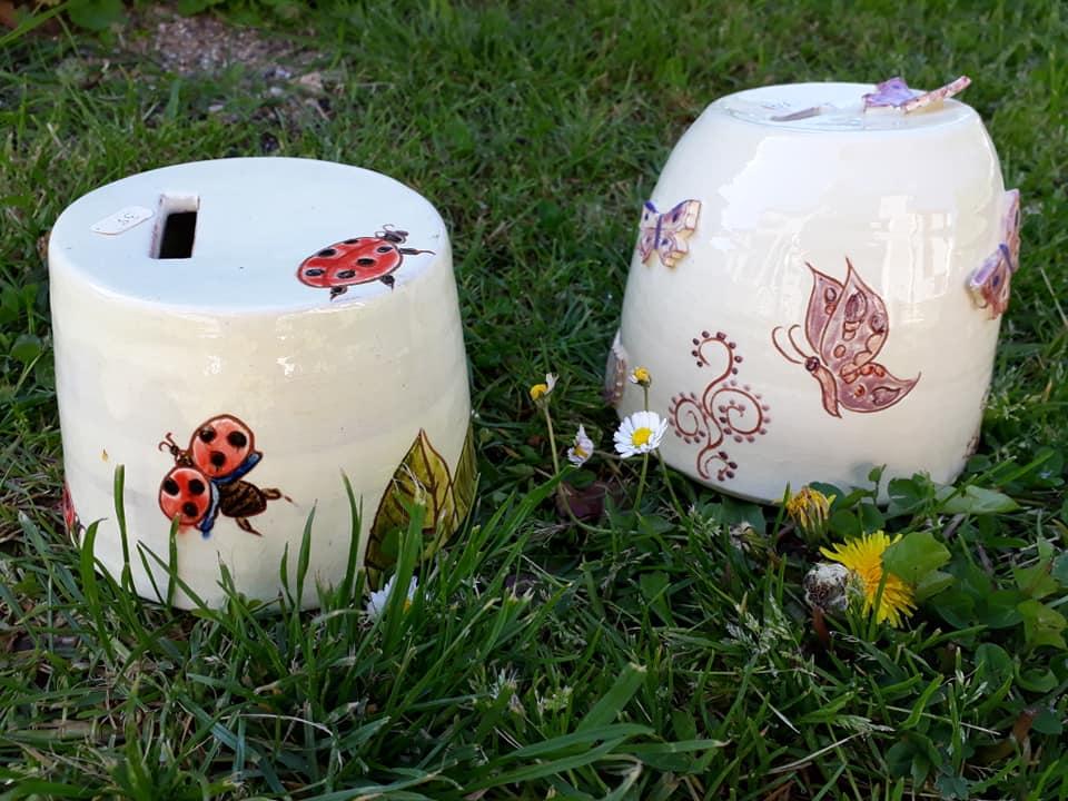 tirelires boite personnalisées originale en céramique