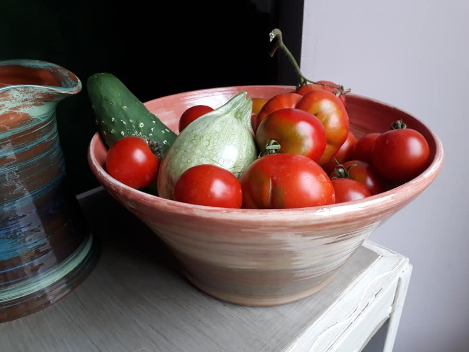 saladiers en céramique artisanale