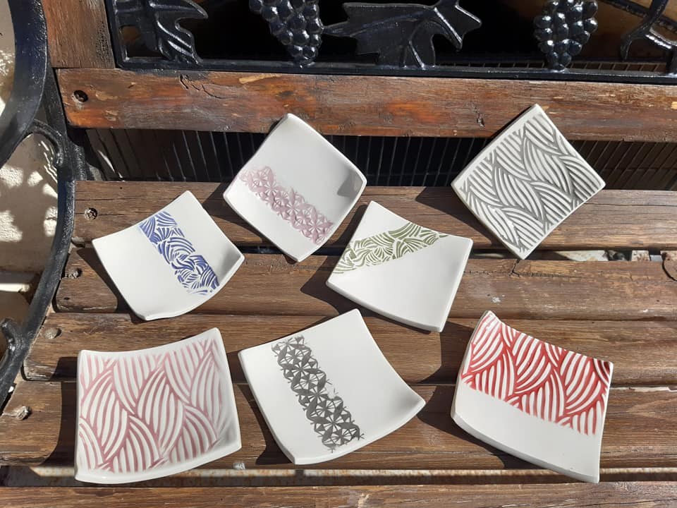 coupelles ceramique terre cuite carre 1