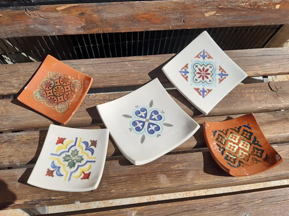 coupelles ceramique terre cuite carre 2