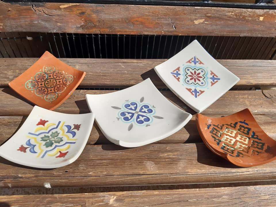 coupelles ceramique terre cuite carre 3