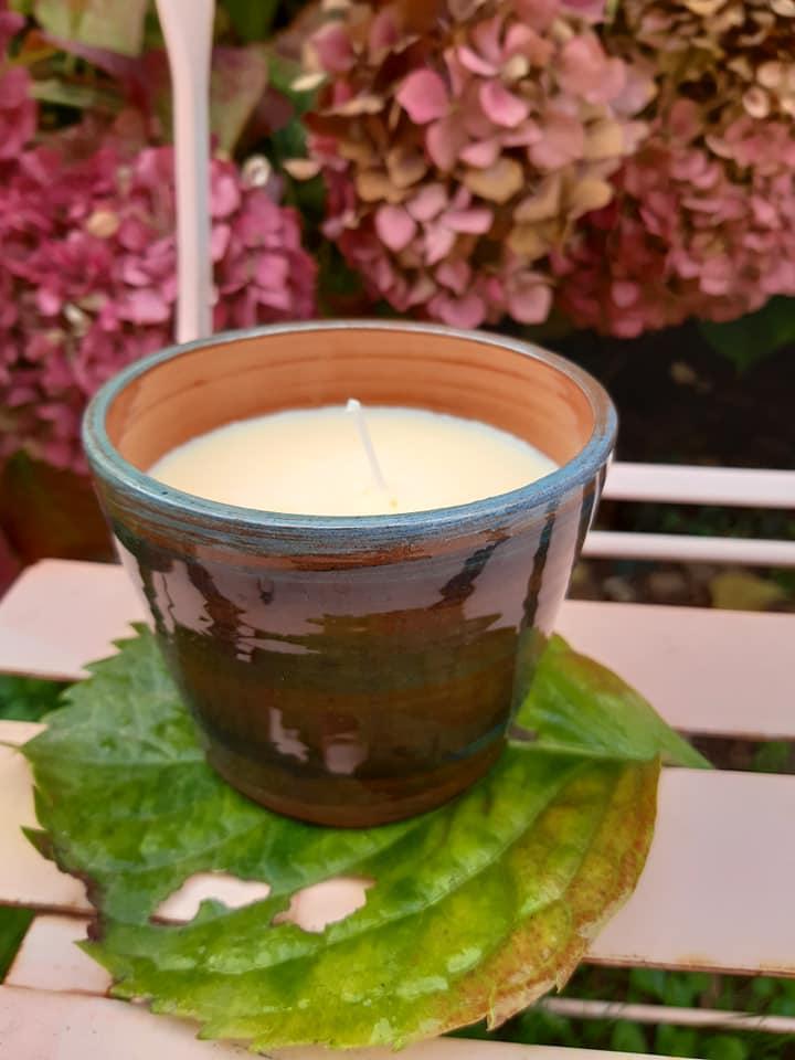 bougies colorees artisanales poterie ceramique 4