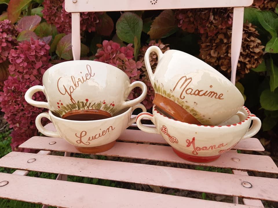 bols en ceramique avec une ou deux anses 2 4