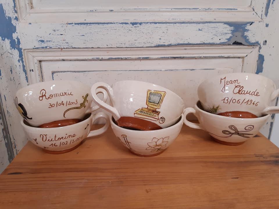 bols en ceramique avec une ou deux anses 3 1