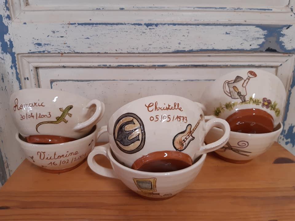 bols en ceramique avec une ou deux anses 5